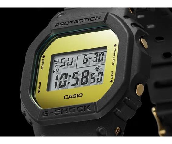 Relógio Casio G-shock Masculino Dw-5600bbmb-1dr Lacrado + Nf