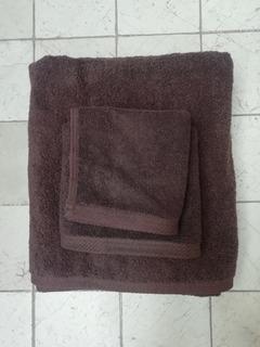 Paquete Toallas De Baño Chocolate