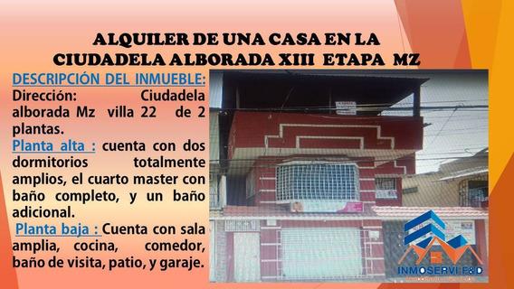 Alquiler De Casa De 2 Plantas En La Alborada
