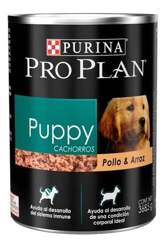Purina Proplan Puppy Lata 368.5g Alimento Perro Cachorro