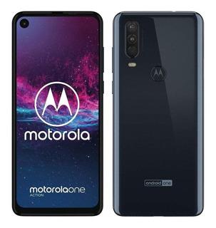 Motorola One One Action 128 Gb Denim Blue 4 Gb Ram