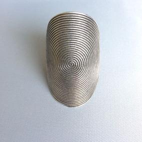 Anel Espiral Indiano 2 Prata Bali 925 Regulável