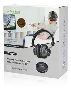 Auriculares Bluetooth Para Tv Avantree Ht3189 Vincha Ps4 Pc