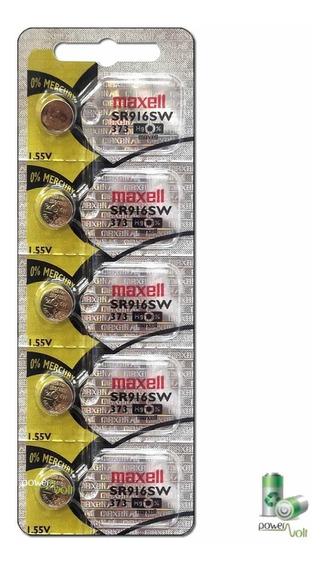Bateria Maxell 373 Sr916sw Japan | Cart C/05 Pilha