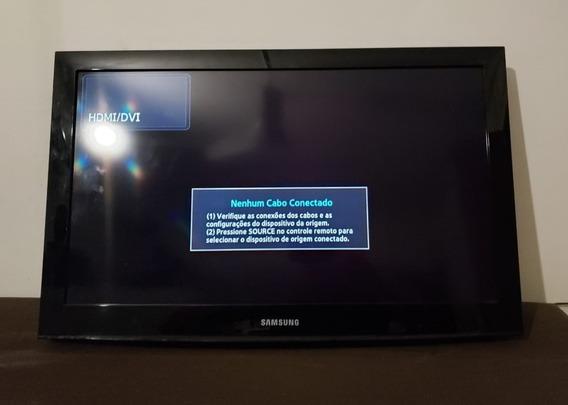 Televisão Samsung Lcd 32 Ln32e420e2g Conversor Não Enviamos