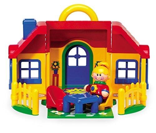 Tolo Toys First Friends Juego De Casa Plegable Con Asa Y Acc