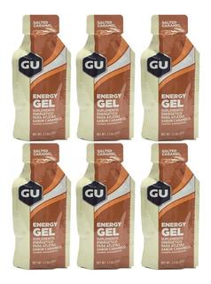 Kit Gu Energy Gel Caramelo 32gr 6 Unidades
