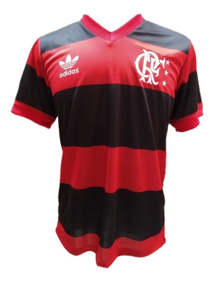 Camisa Flamengo 1982 Retrô Zico