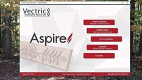 Aspire9.015 Pt-br Cnc/co2/routers/laser+3.45gb Clipart