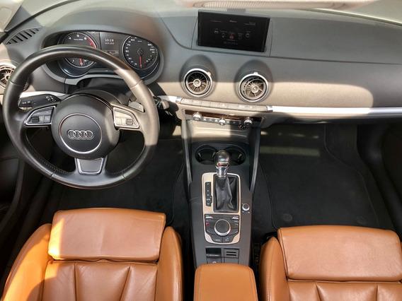 Audi A3 1.8 Tfsi Ambition - Couro Terracota - Completo
