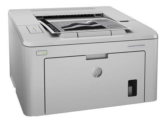 Impresora Hp Laserjet M203dw Duplex Monocromatica Tienda