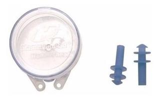 Tampão Auricular Protetor De Ouvido P/ Natação 100% Silicone