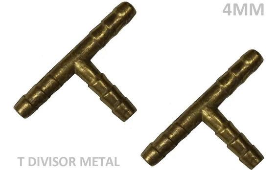 2 Emenda T Limpador Para-brisa 4mm Metal - Gol Palio Corsa