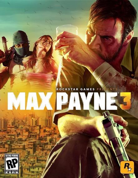 Max Payne 3 (mídia Física) Pc - Dvd
