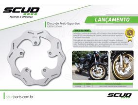 Disco Freio Esportivo Cb300 Cbx 250 Twister 320 Mm Scud