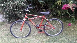 Bicicleta Playera Marca Olimpia. Rodado.24.