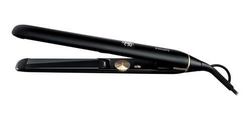 Plancha de cabello Philips Pro HPS930 negra 110V/240V