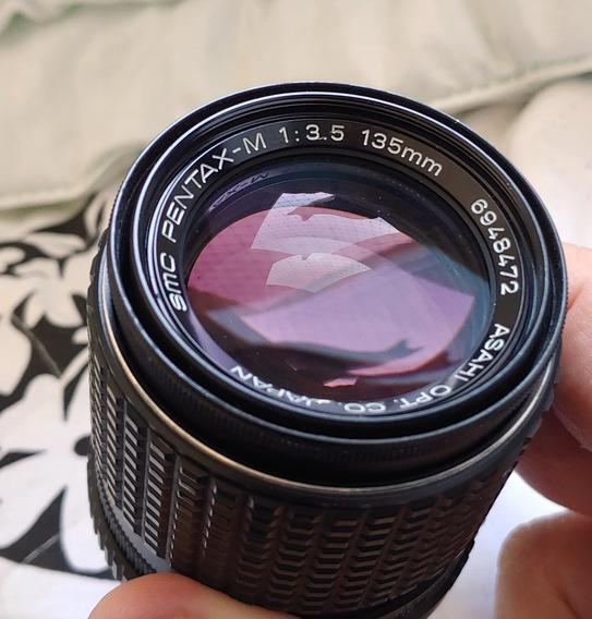 Lente Pentax 135mm F3.5 - Ótima Condição - Oportunidade
