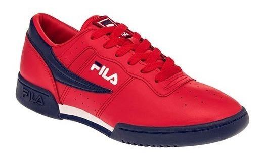 Tenis Fila Original Rojo Tallas Del #26 A #28 Hombre Ppk