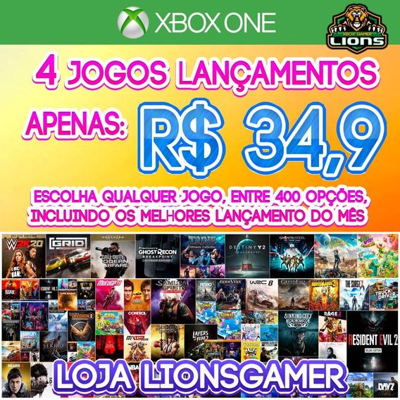 Promoção 4 Jogos Xbox One