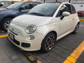 Fiat 500 1.4 3p Sport Dualtronic Qc Piel At 2012 Impecable