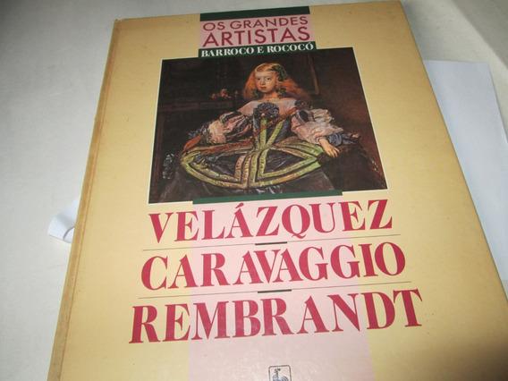 Livro Os Grandes Artistas Barroco E Rococo R.722