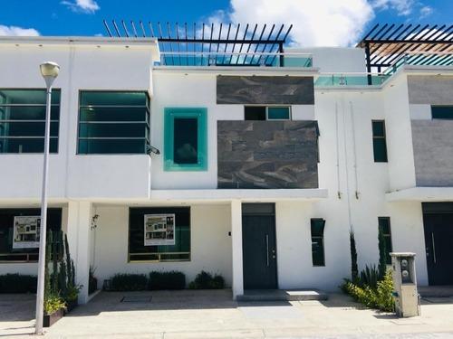 Casa Residencial Platinum, Al Sur De Pachuca Con Roof Garden