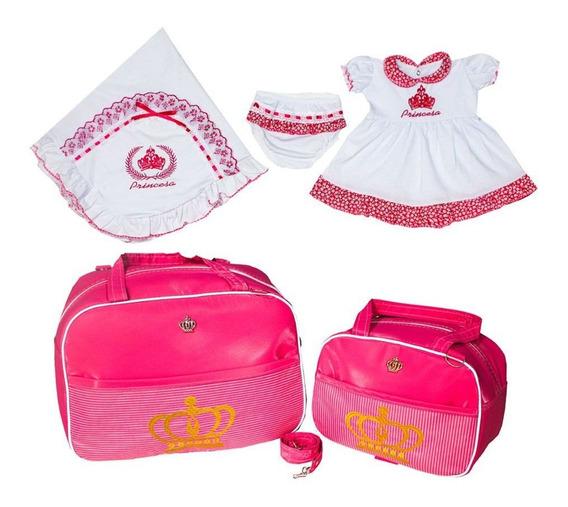 Saída De Maternidade + Bolsa De Bebe Gaby Mundo Infantil