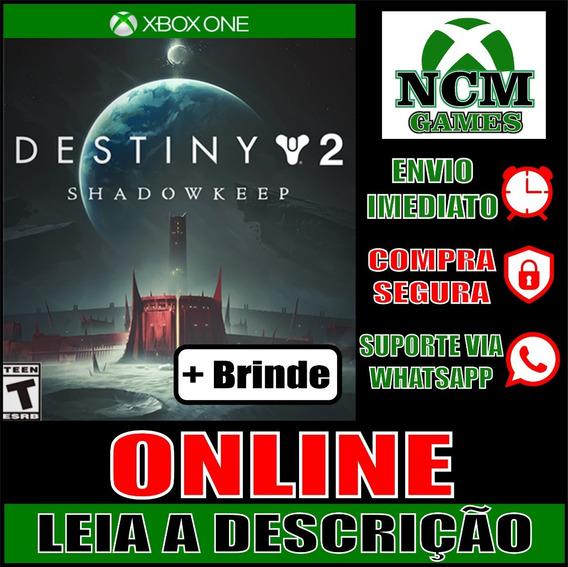 Destiny 2: Fortaleza Das Sombras Xbox One Online + Brinde