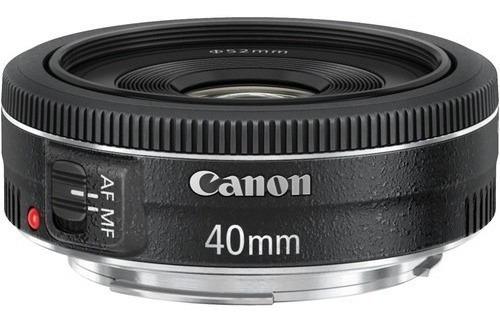 Imagem 1 de 3 de Mlb - Lente Canon Ef 40mm F/2.8 Stm* - Mlb1839334836
