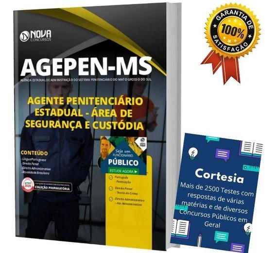 Apostila Agepen Ms Agente Penitenciário Mato Grosso Do Sul