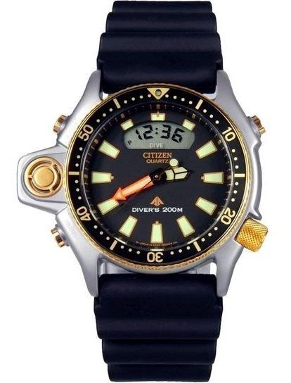 Relógio Citizen Aqualand Jp2004-07e Série Ouro Reedição