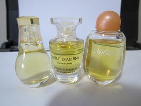 Kit Com 3 Miniaturas De Perfumes Importados Yves Rocher