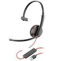 Audifono Y Mic De Diadema Plantronics Blackwire C32 Spk-1700
