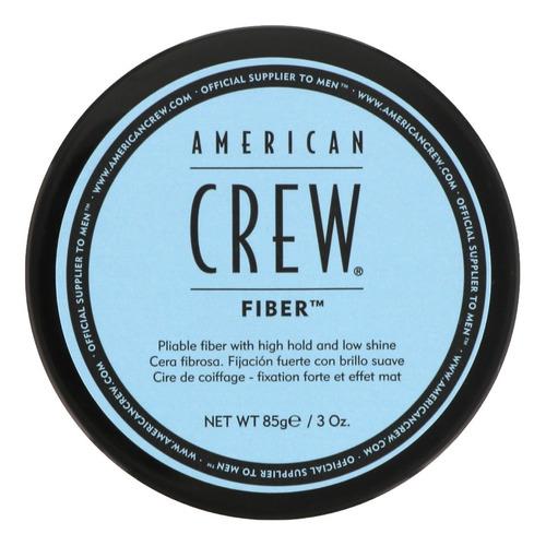 Cera Profesional Mate Fijación Alta Fiber American Crew Men