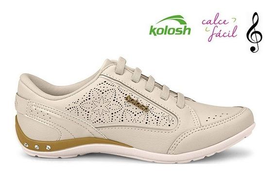 Tenis Kolosh C0630q Bege