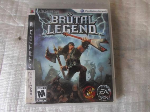 Brutal Legend Original Completo Para Playstation 3 - Ps3