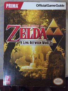 Zelda A Link Between Worlds Guia - Usado - Buen Estado