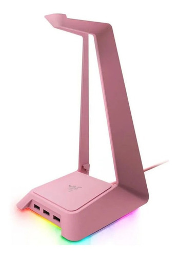 Razer Base Para Audifonos Gamer Quartz Chroma Stand Rgb