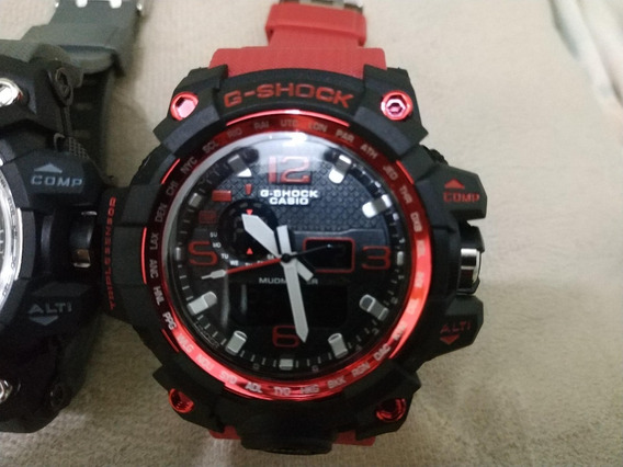 Kit 6 Relógios Casio G-shock - Mudmaster E Steel