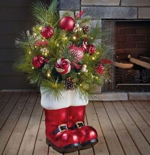 Botas Navideñas Decorativas 91 Cm