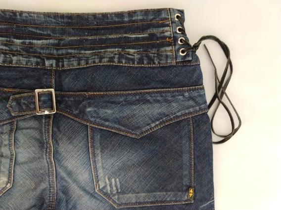 Zoomp Calça Jeans Feminina Skinny 40 Original Azul Escura