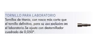 Tornillo Para Laboratorio Cabeza Cuadrada - Byw Implantes
