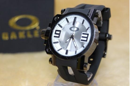 Relógio Oakley Titanium Gearbox Vidro Anti-risco