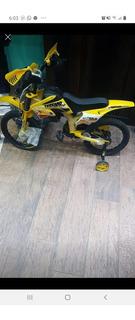 Vendo Bici Moto Rodado 16
