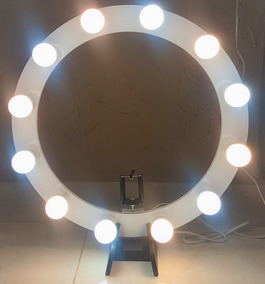 Iluminador Ring Light De Mesa 50cm Diâmetro C/ 10 Soquetes