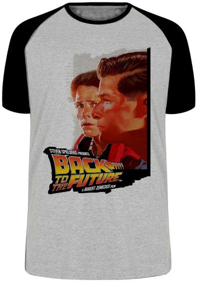 Camiseta Luxo De Volta Para O Futuro Back The Future Filme