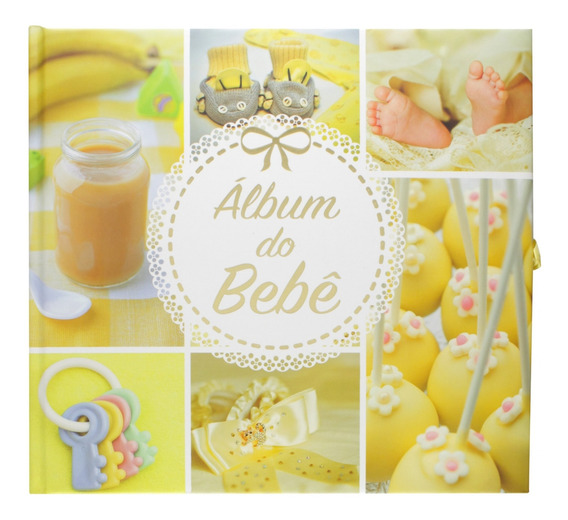 Álbum Do Bebê: Amarelo