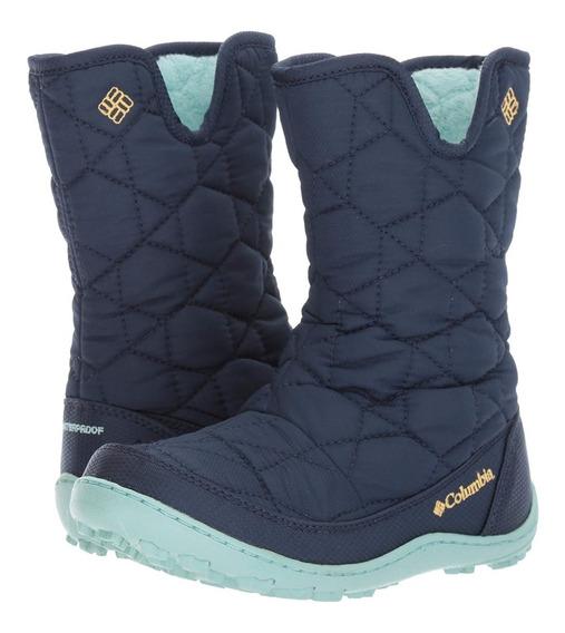 Bota De Invierno Nieve Frio Ciudad Columbia Minx Slip