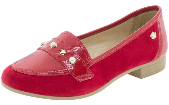 Sapato Infantil Feminino Pink Cats - W9663a Vermelho